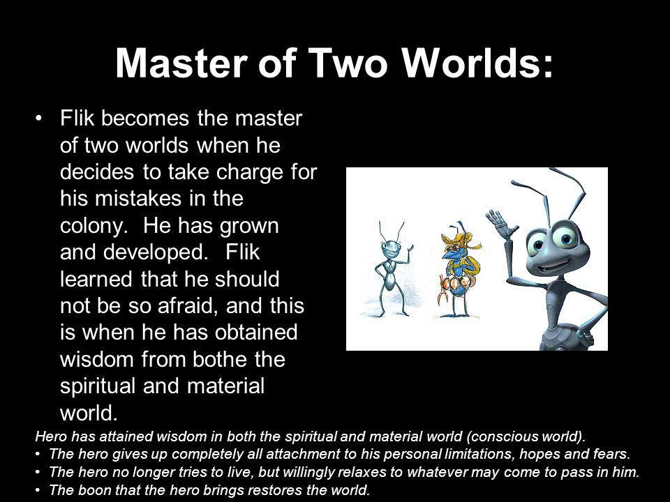 Master of Two Worlds: