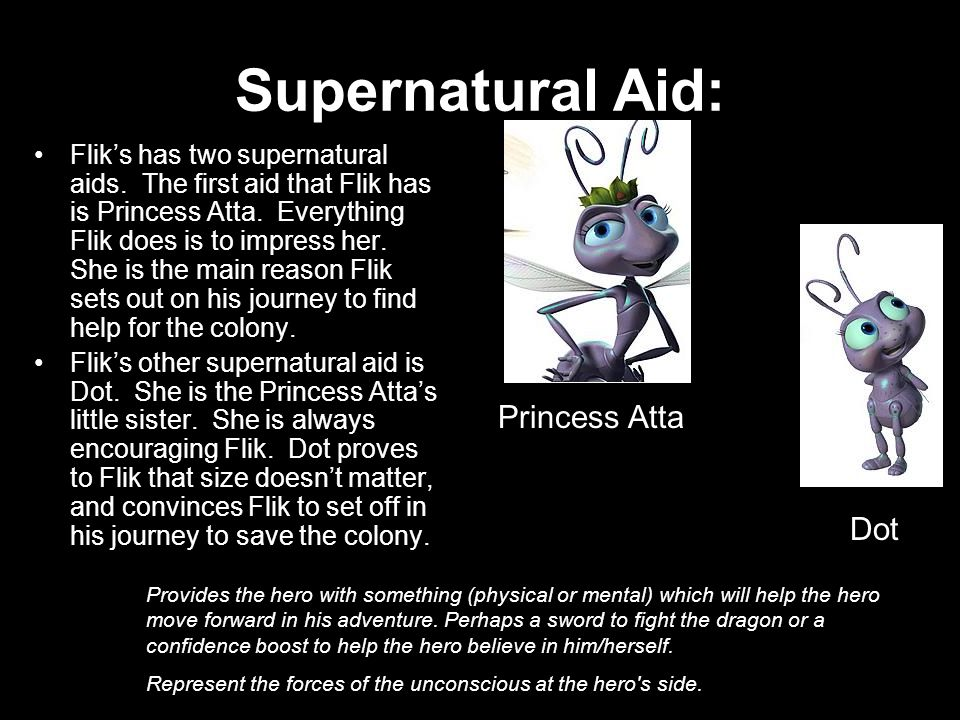 Supernatural Aid: Princess Atta Dot