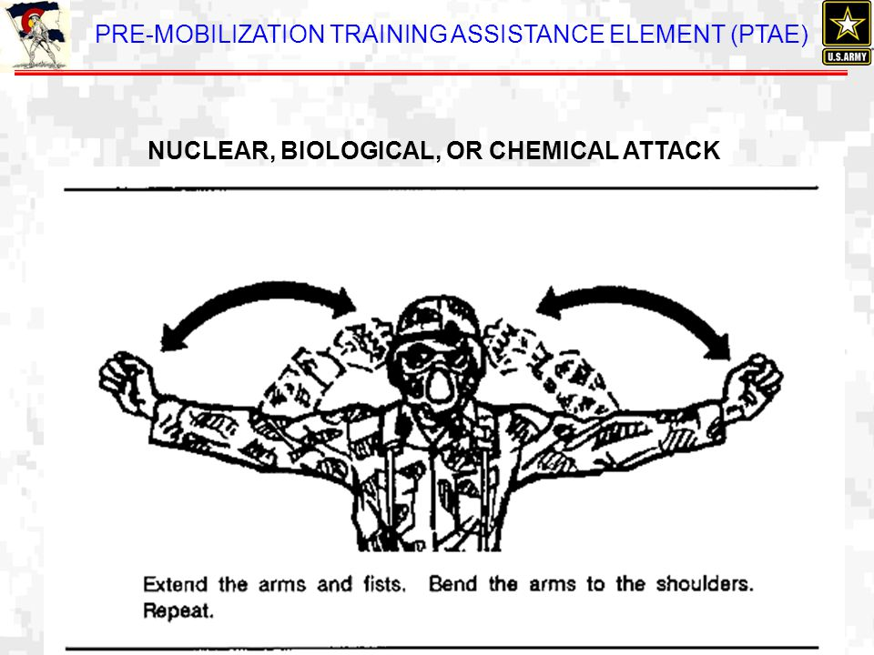 NUCLEAR, BIOLOGICAL, OR CHEMICAL ATTACK