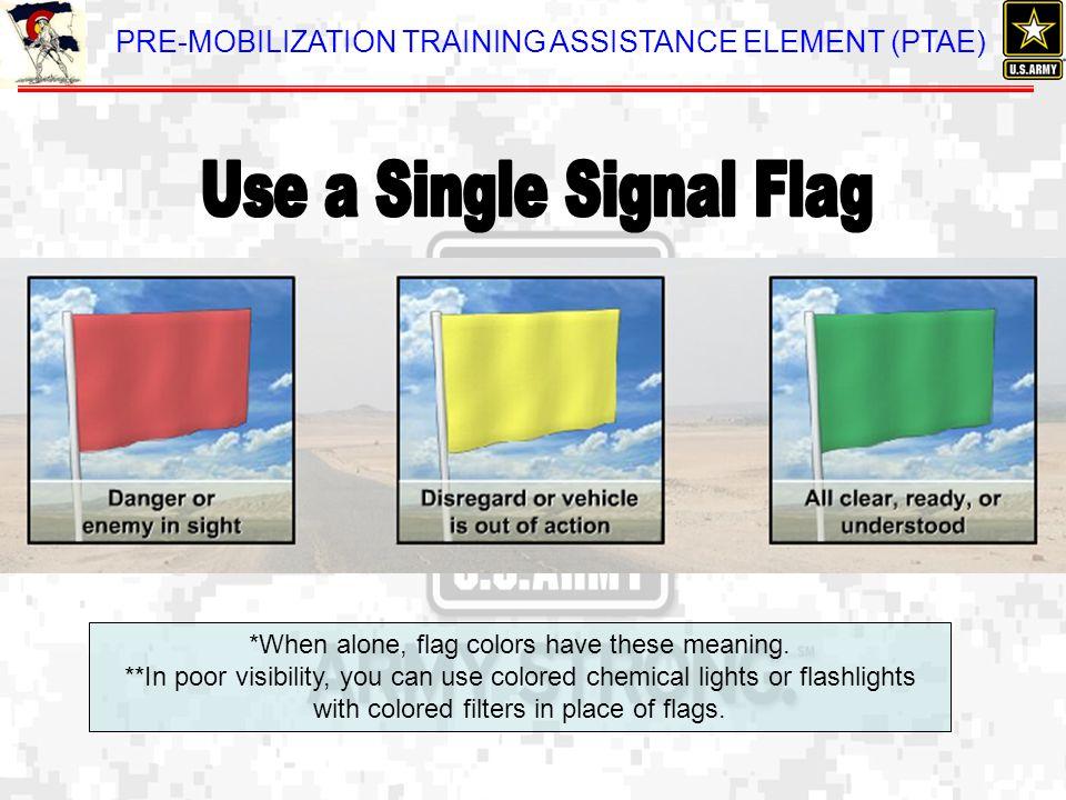 Use a Single Signal Flag