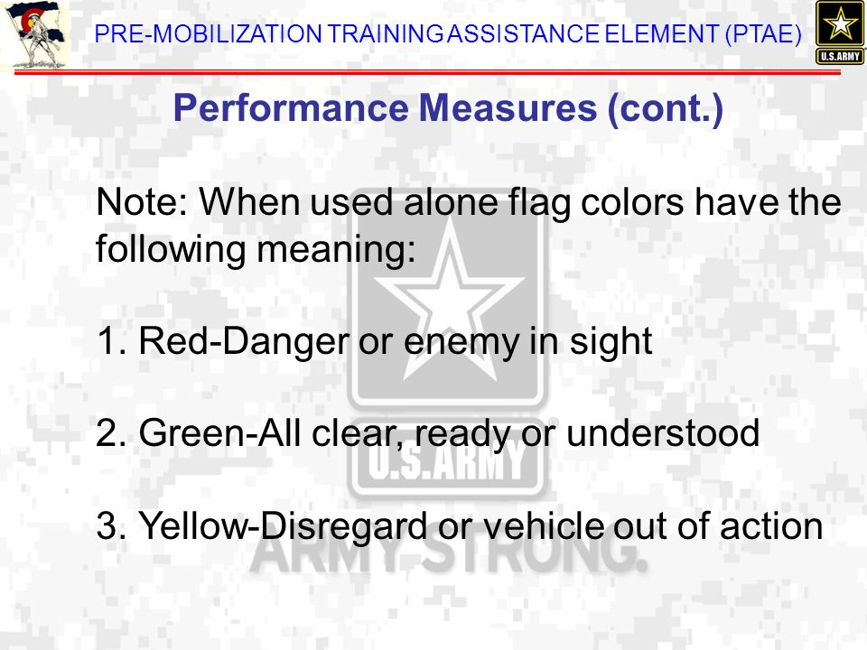 Performance Measures (cont.)