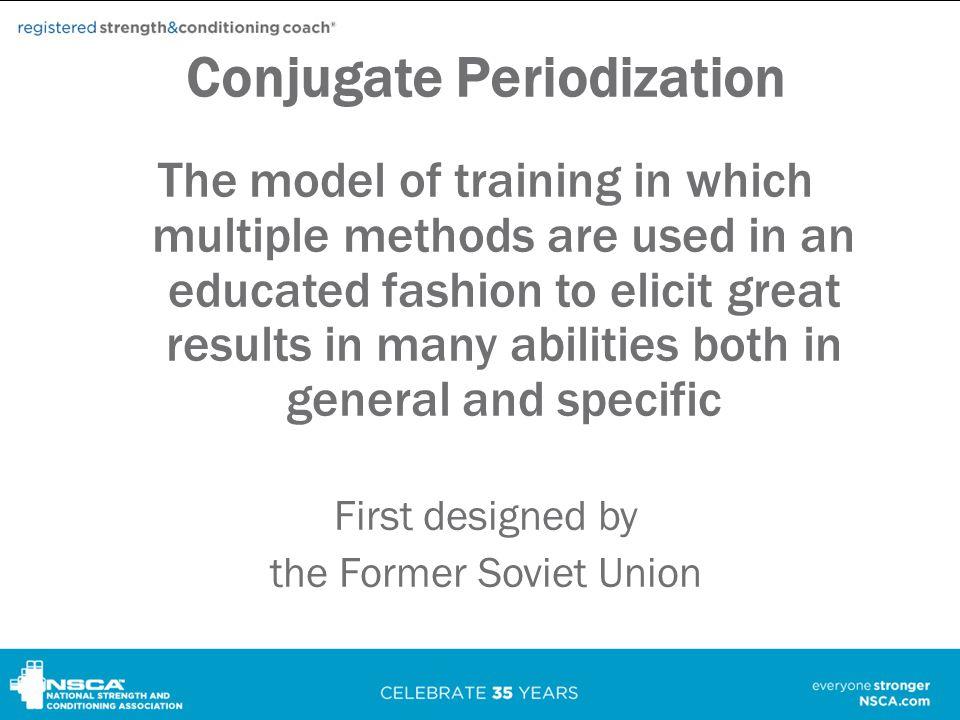 Conjugate Periodization