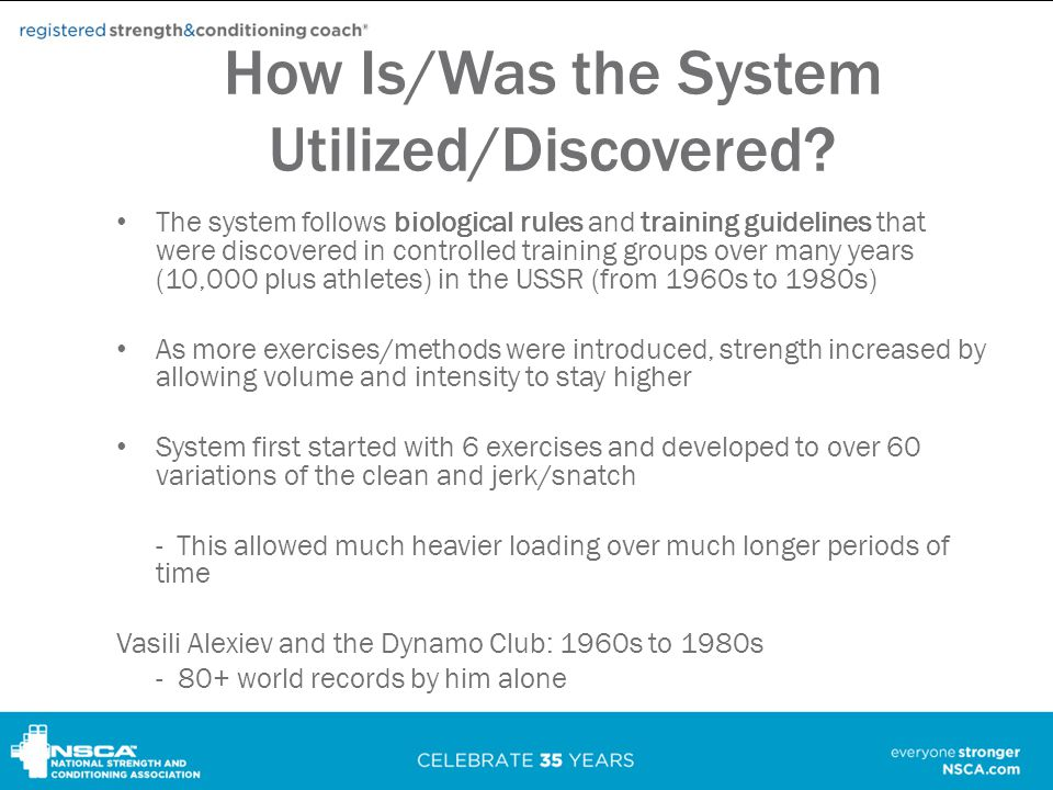 How Is/Was the System Utilized/Discovered