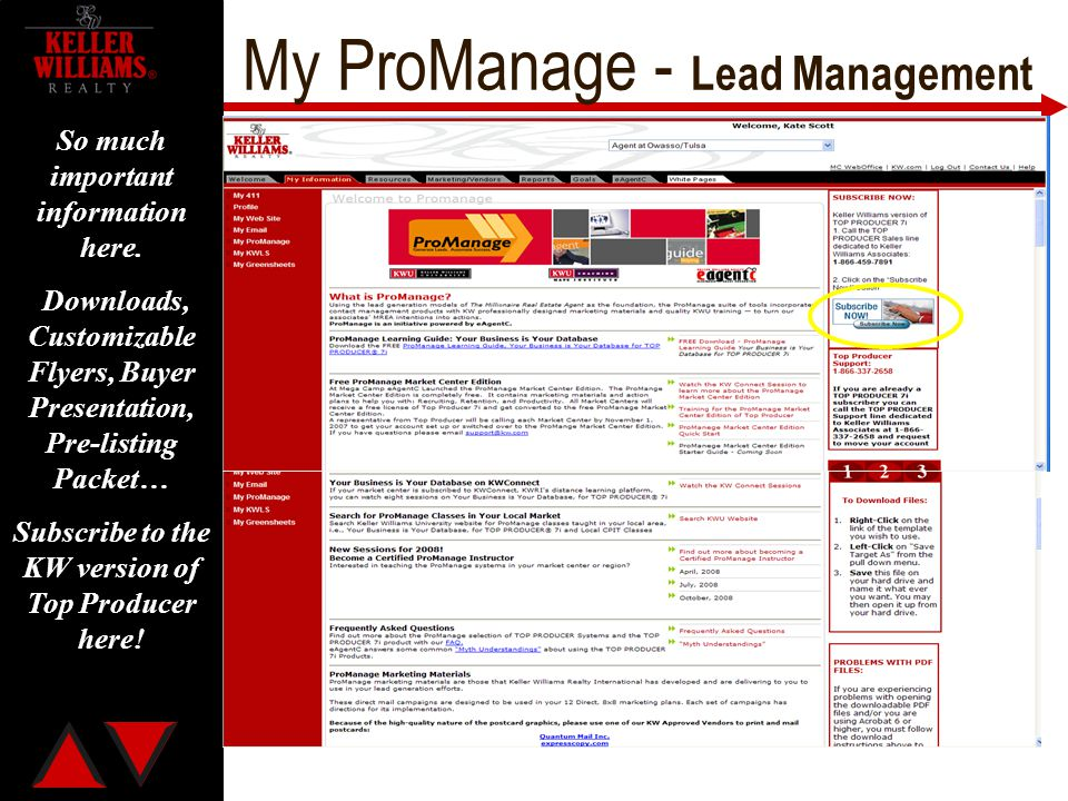 My ProManage - Lead Management
