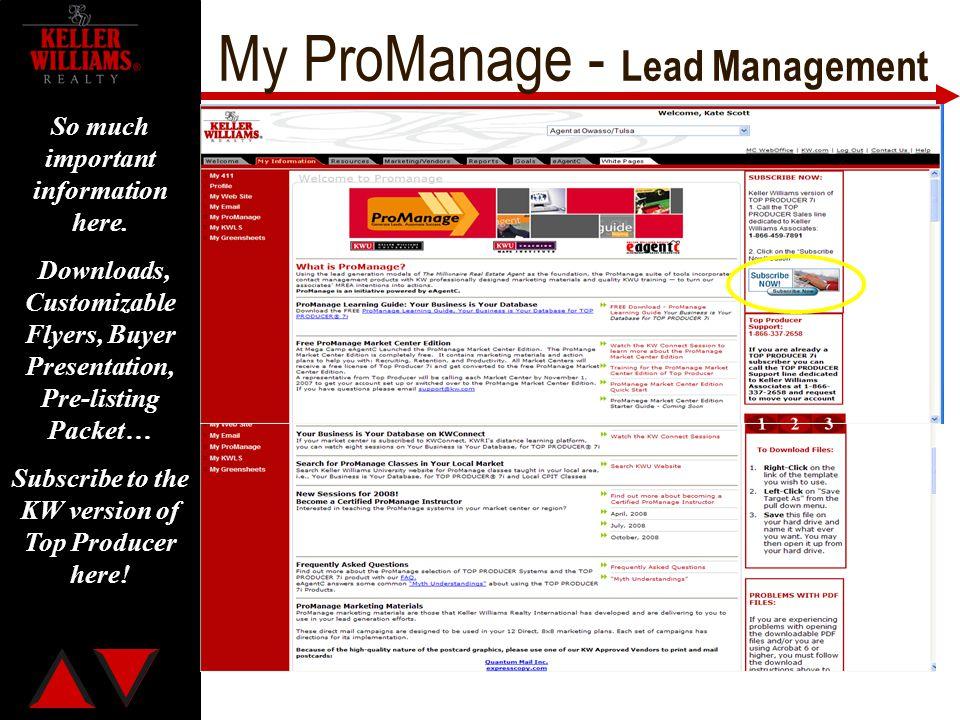 My ProManage - Lead Management