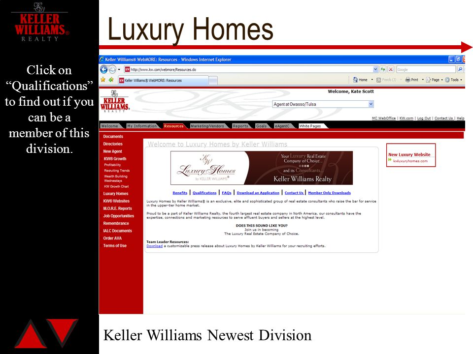 Luxury Homes Keller Williams Newest Division