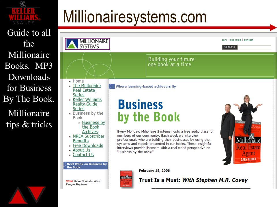 Millionaire tips & tricks