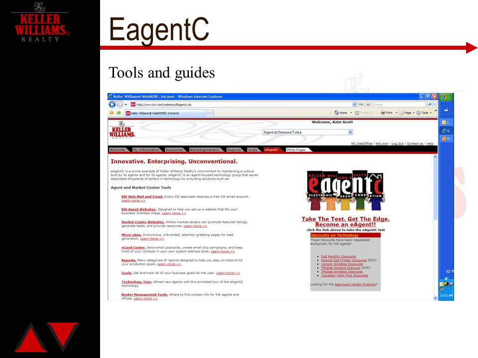EagentC Tools and guides