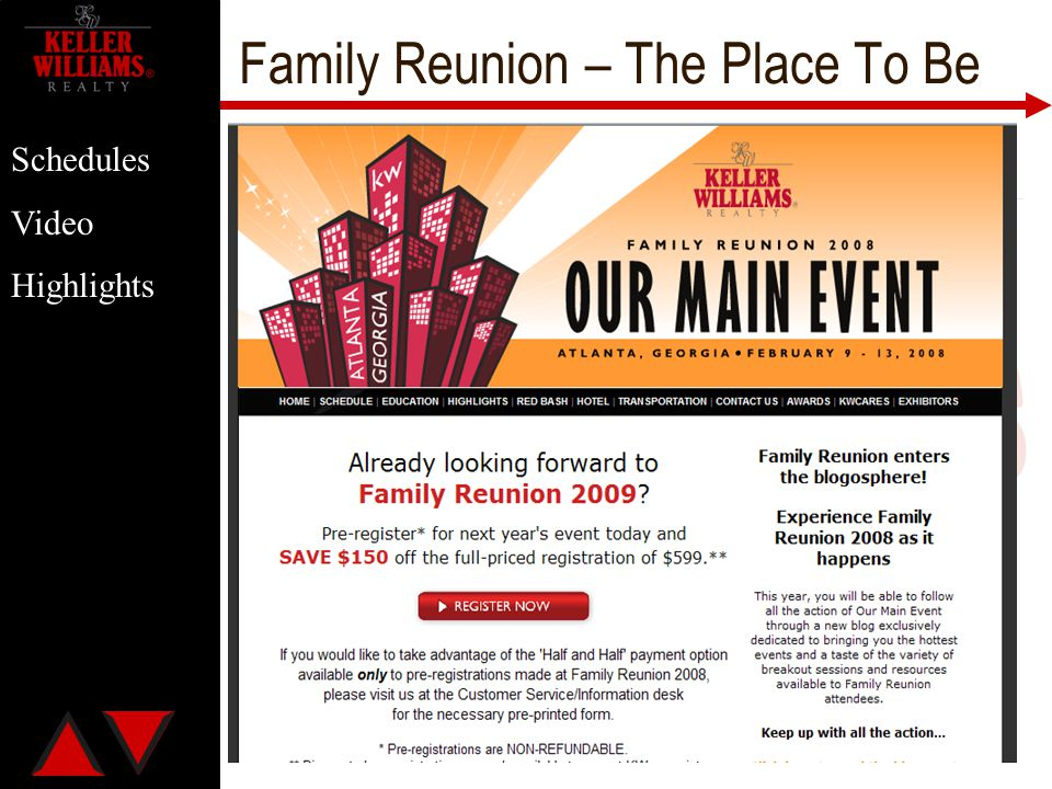 Family Reunion – The Place To Be