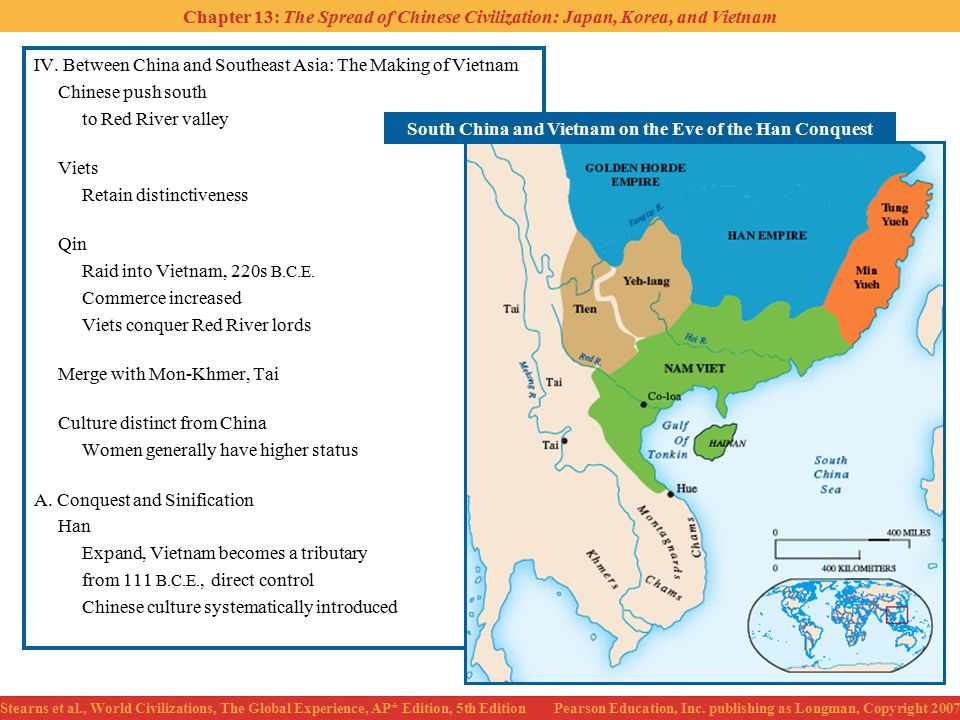 South China and Vietnam on the Eve of the Han Conquest