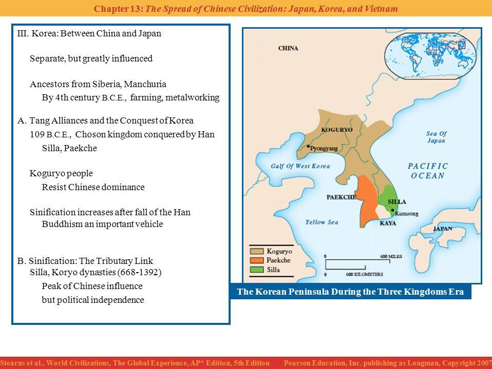 The Korean Peninsula During the Three Kingdoms Era