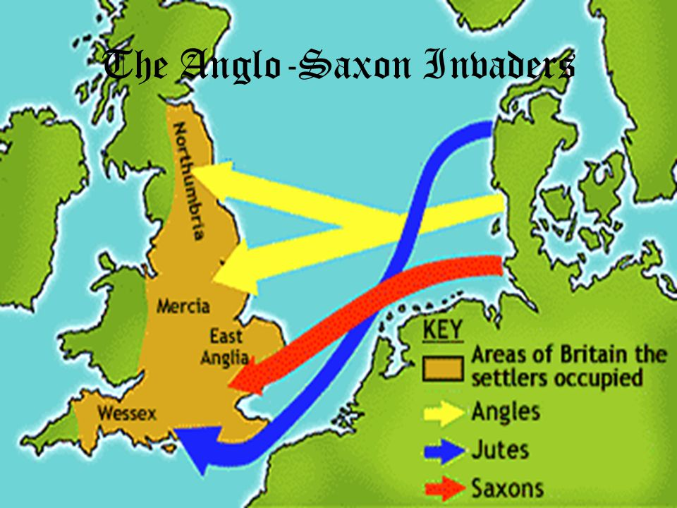 The Anglo-Saxon Invaders
