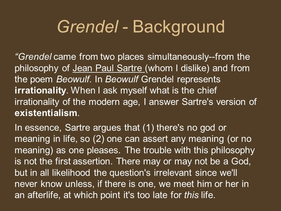 Grendel - Background