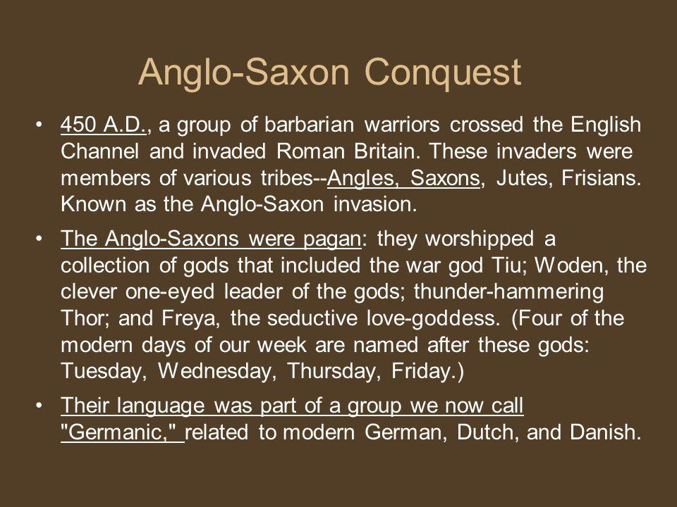 Anglo-Saxon Conquest