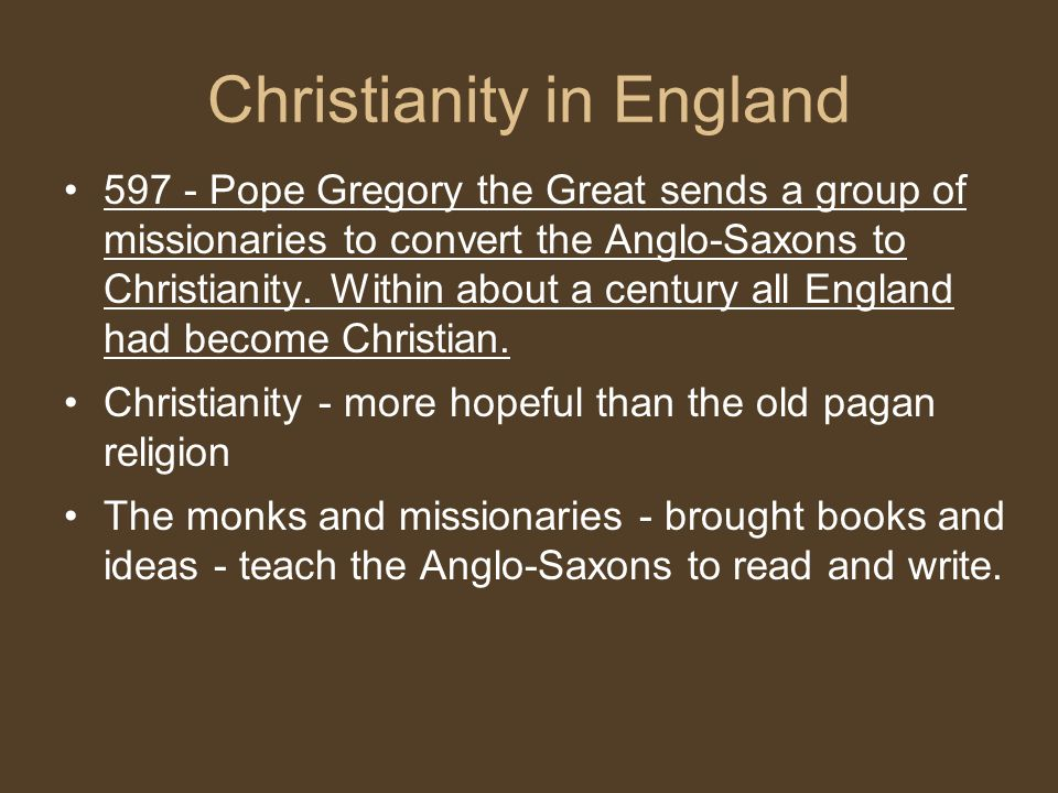 Christianity in England
