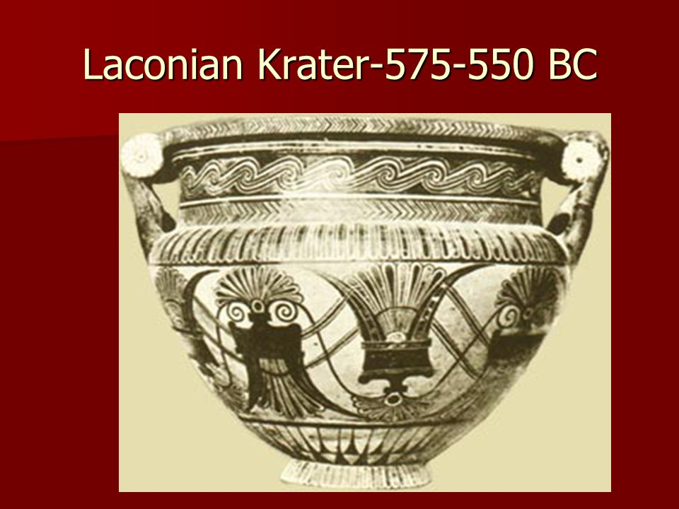 Laconian Krater-575-550 BC