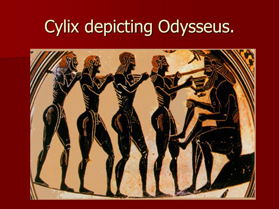 Cylix depicting Odysseus.