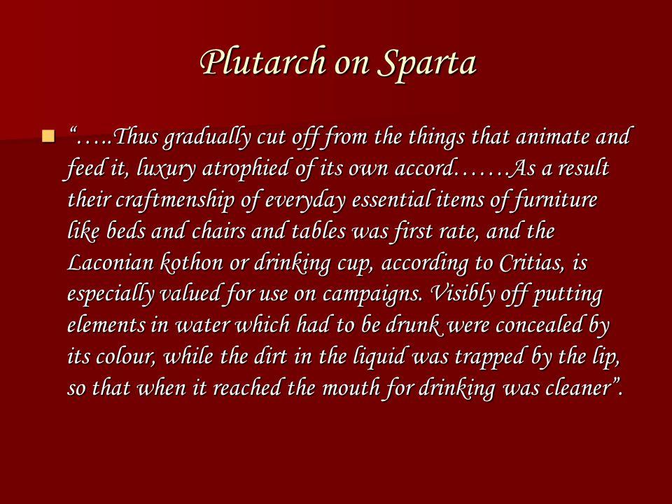 Plutarch on Sparta