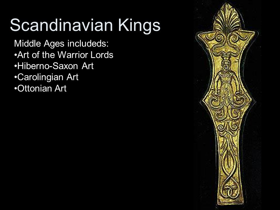 Scandinavian Kings Middle Ages includeds: Art of the Warrior Lords