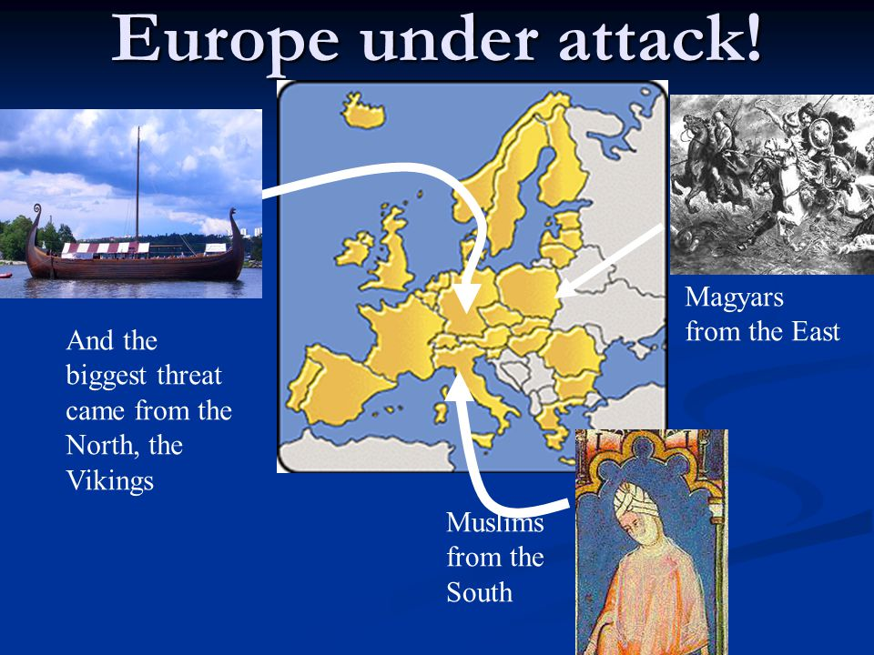 Europe under attack! Magyars from the East