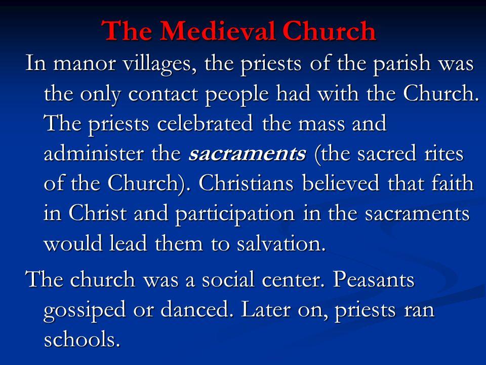 The Medieval Church
