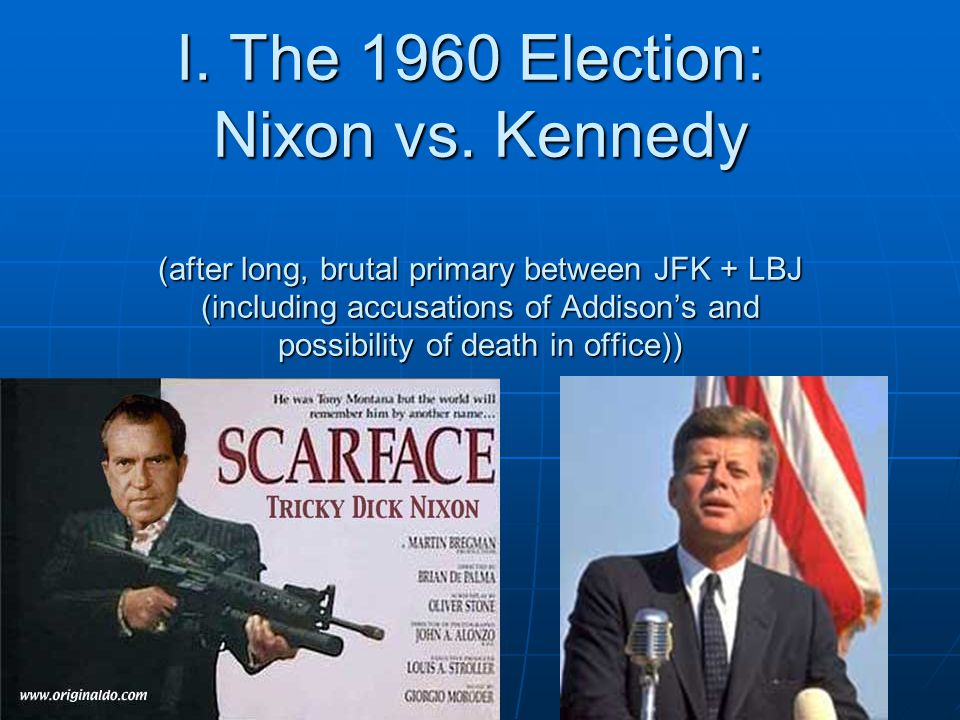 I. The 1960 Election: Nixon vs