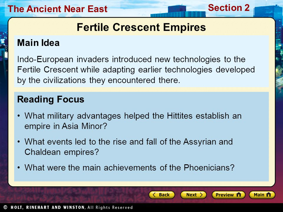 Fertile Crescent Empires