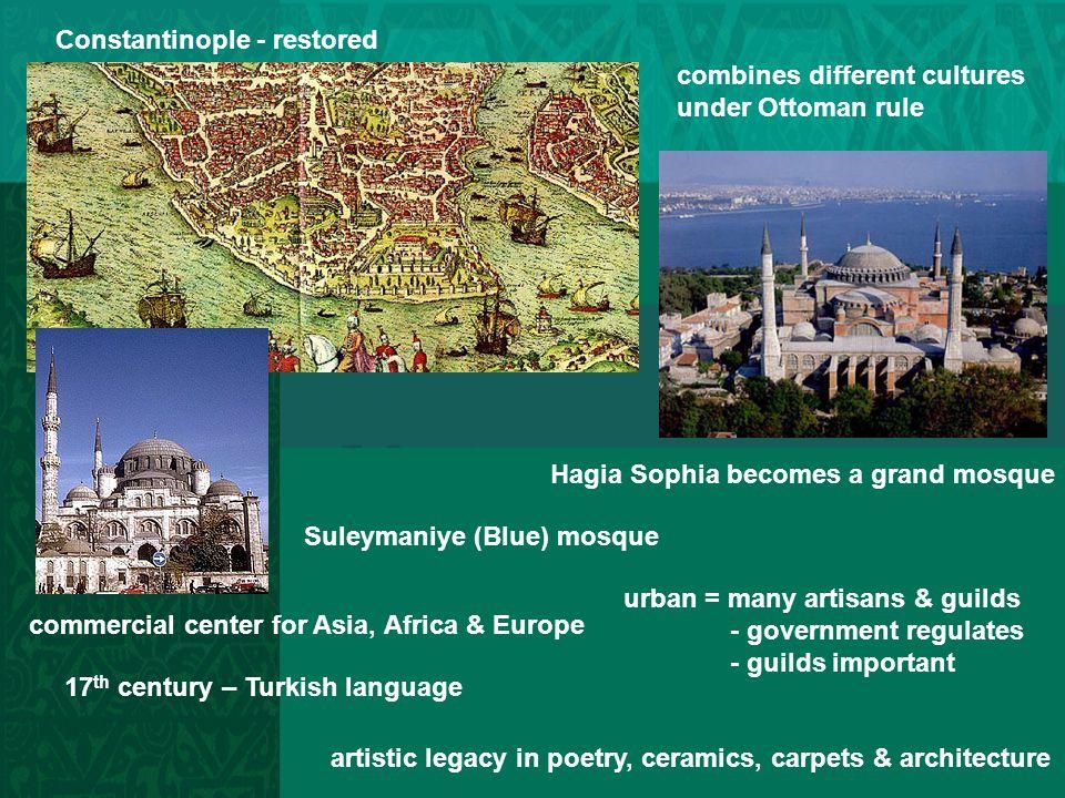 Constantinople - restored