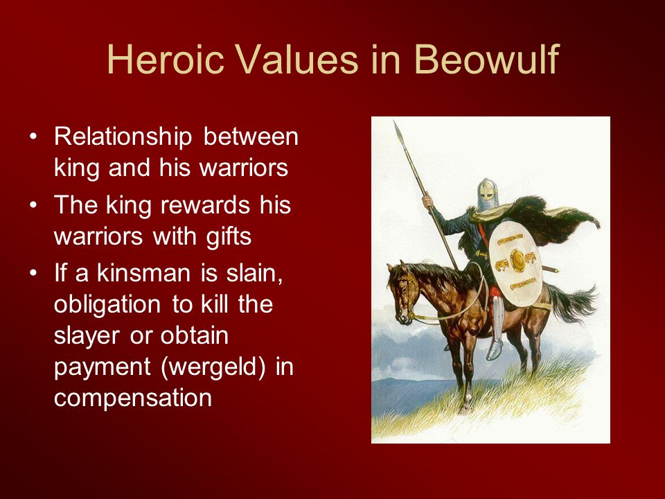 heroic code beowulf Free essay: vengeance and revenge in beowulf the oldest of the great lengthy poems written in english and perhaps the lone survivor of a genre of anglo-saxon.