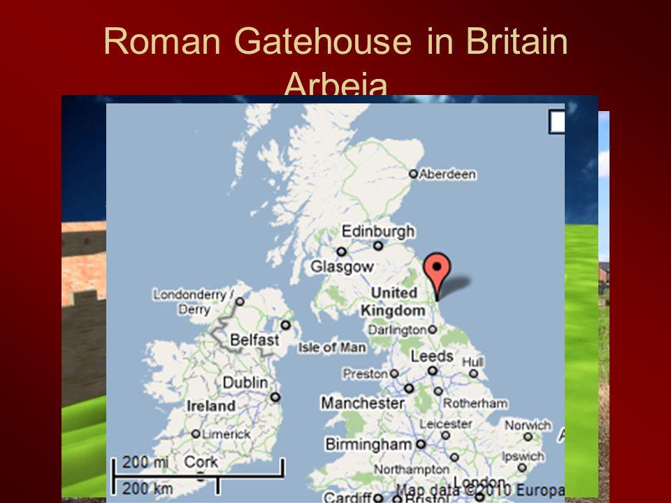 Roman Gatehouse in Britain Arbeia