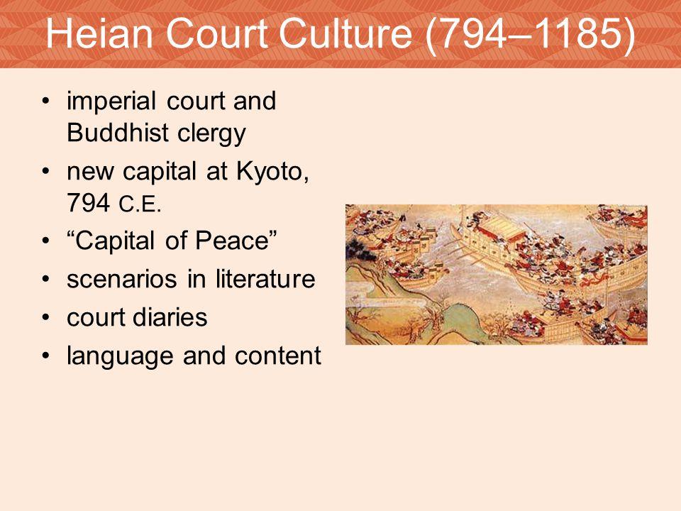 Heian Court Culture (794–1185)