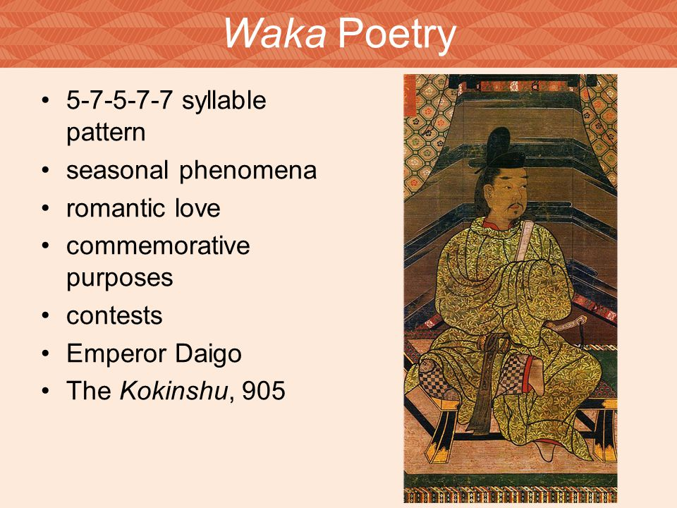 s classical age volume b ppt video online waka poetry 5 7 5 7 7 syllable pattern seasonal phenomena