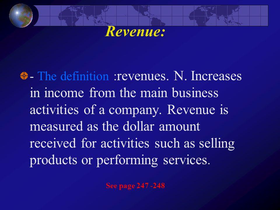 Revenue: