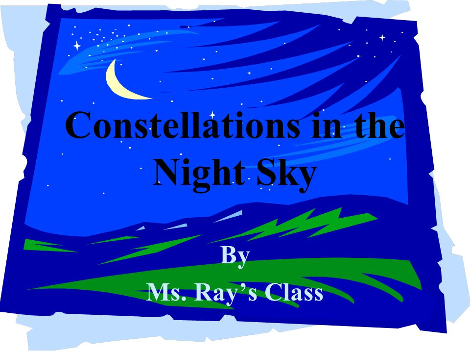 Constellations in the Night Sky