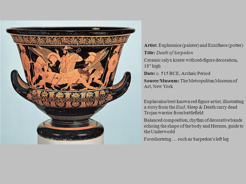 Artist: Euphronios (painter) and Euxitheos (potter)