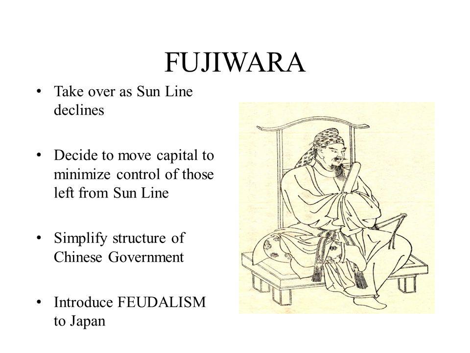 FUJIWARA Take over as Sun Line declines