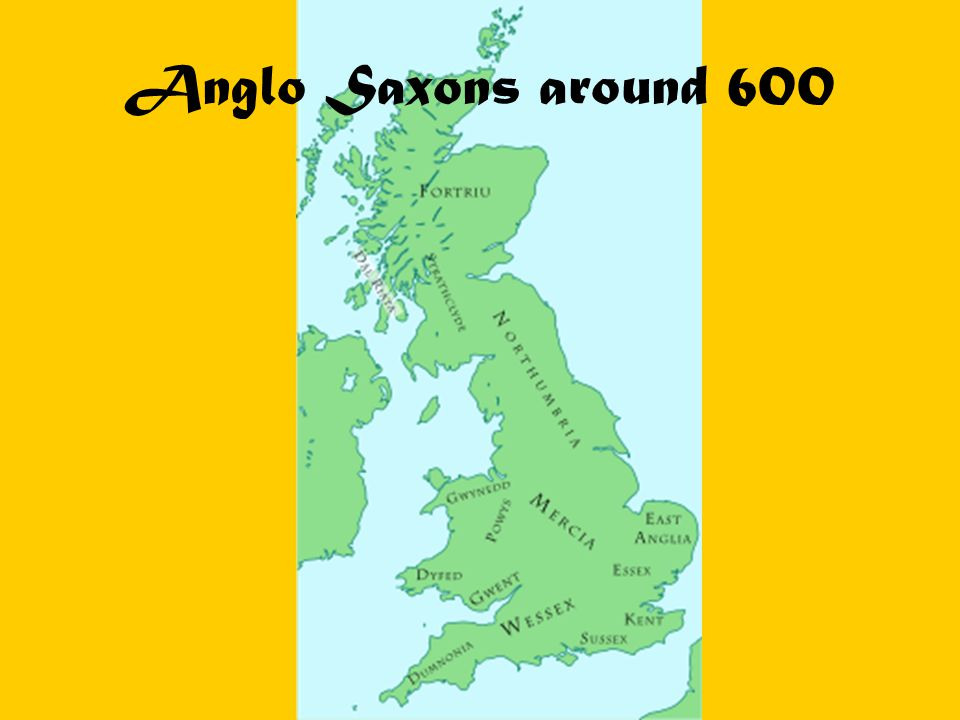 Anglo Saxons around 600