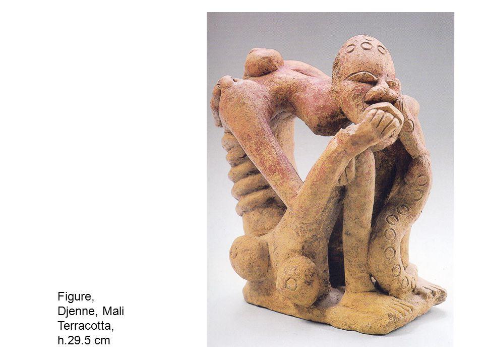 Figure, Djenne, Mali Terracotta, h.29.5 cm