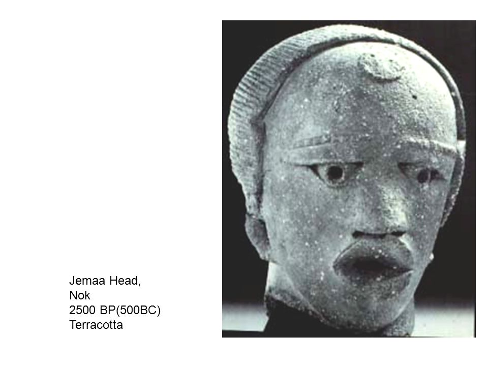 Jemaa Head, Nok 2500 BP(500BC) Terracotta