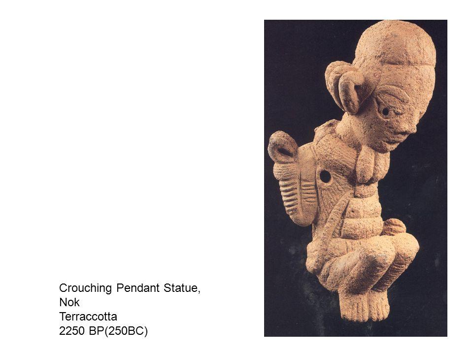 Crouching Pendant Statue,