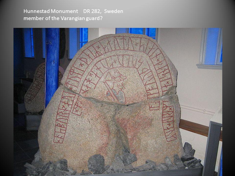 Hunnestad Monument DR 282, Sweden