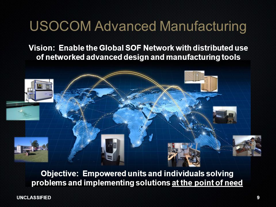 USOCOM Advanced Manufacturing
