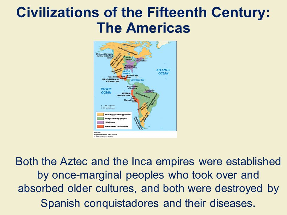 Civilizations of the Fifteenth Century: The Americas