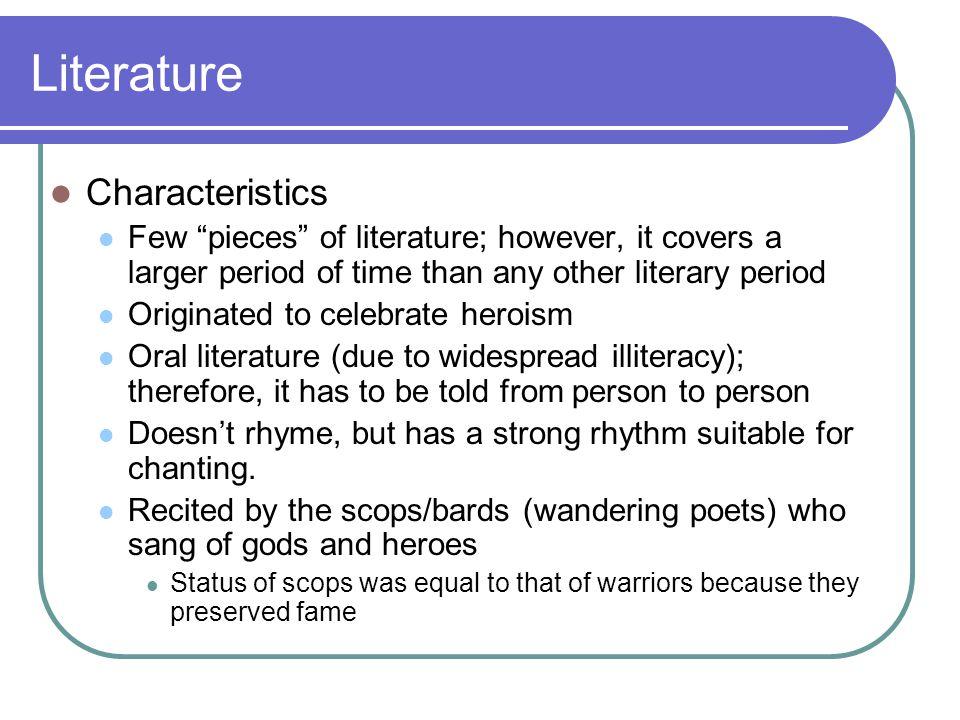 Literature Characteristics