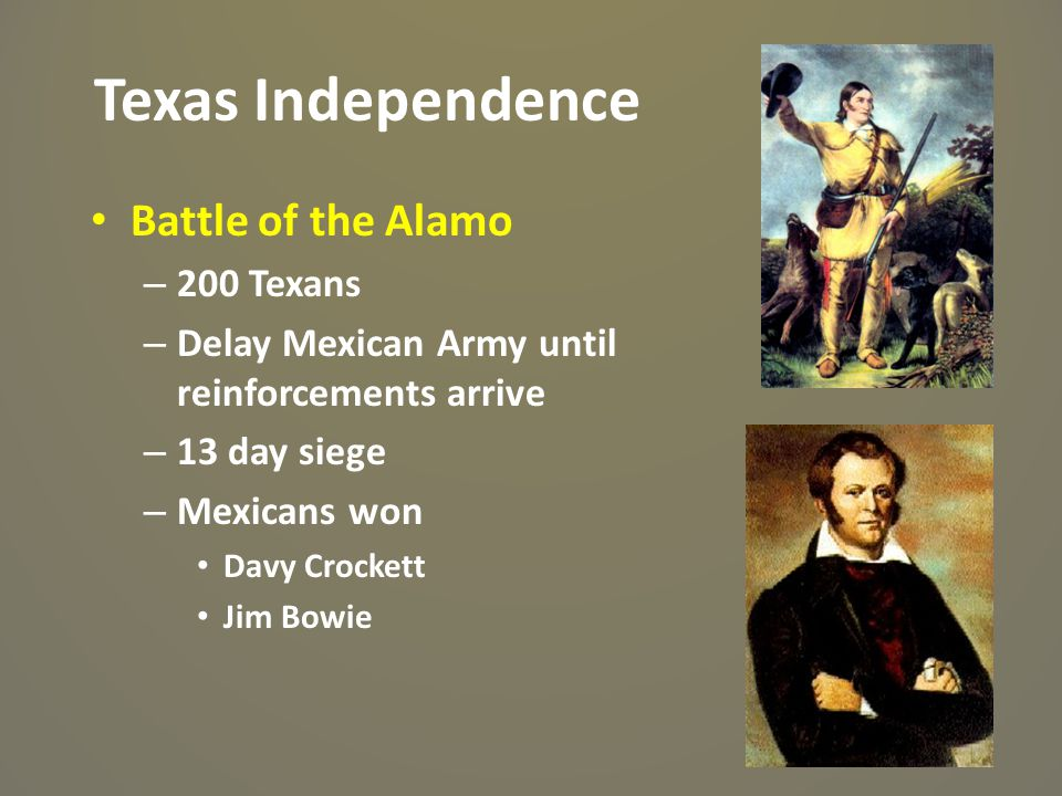 Texas Independence Battle of the Alamo 200 Texans