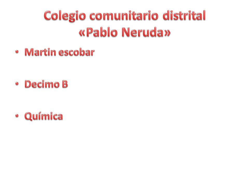 Colegio comunitario distrital «Pablo Neruda»