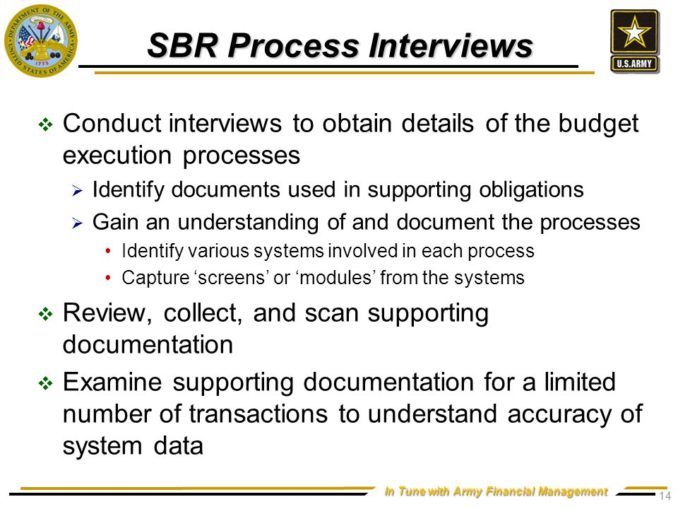SBR Internal Controls Analysis