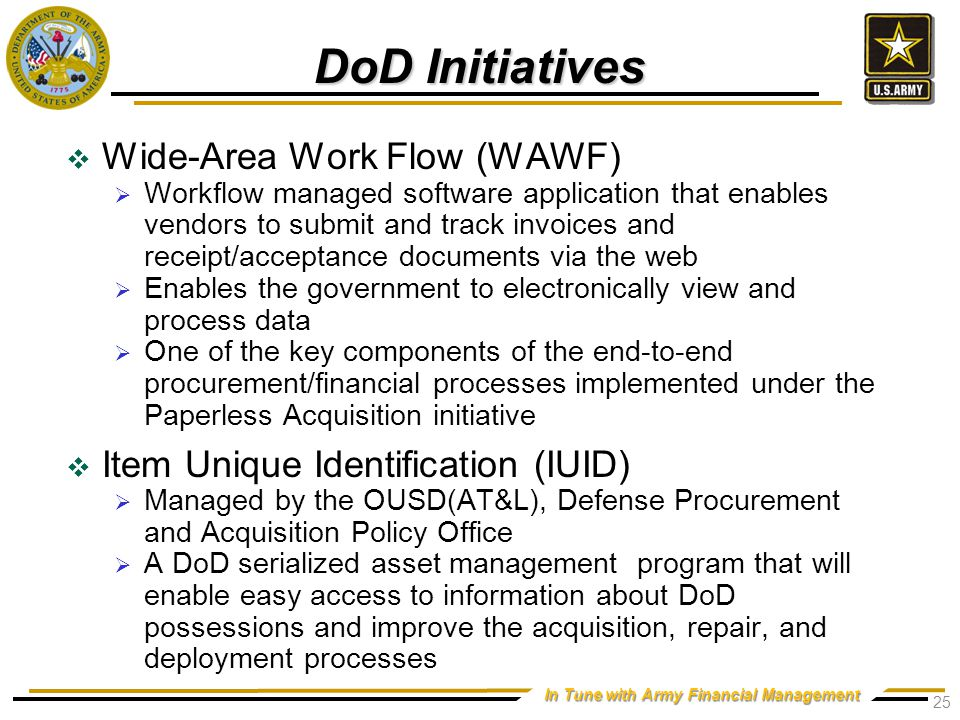 Army Initiatives Logistics Modernization Program