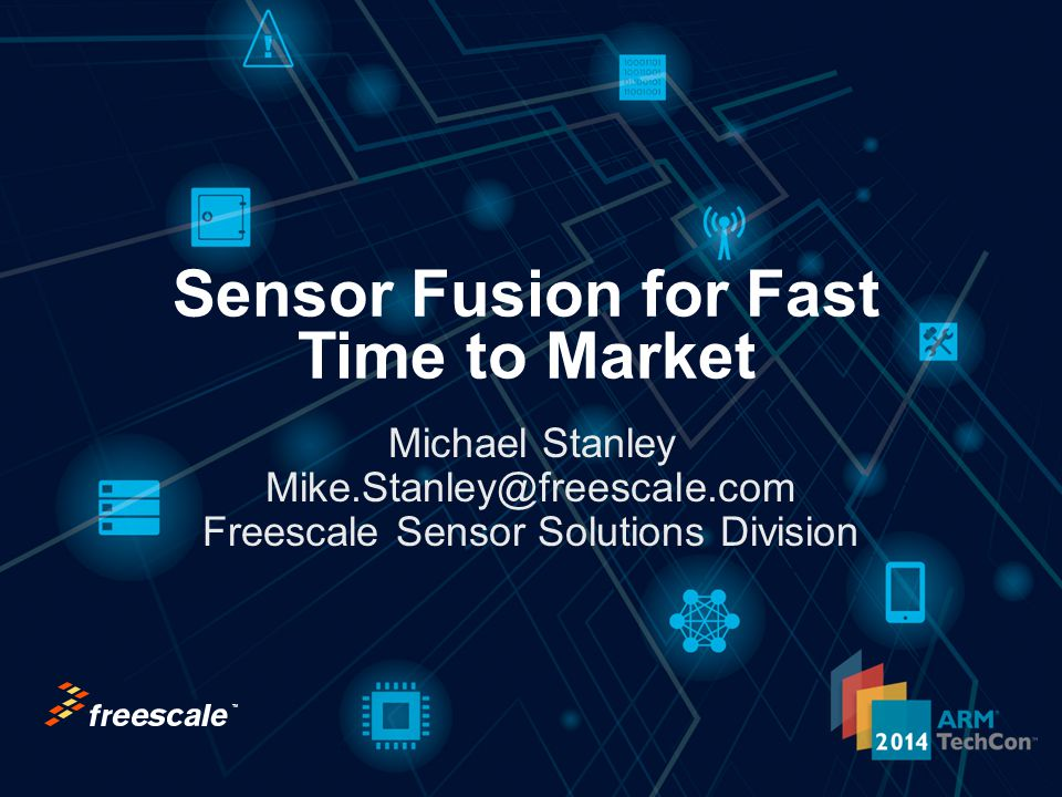 Sensor Fusion for Fast Time to Market