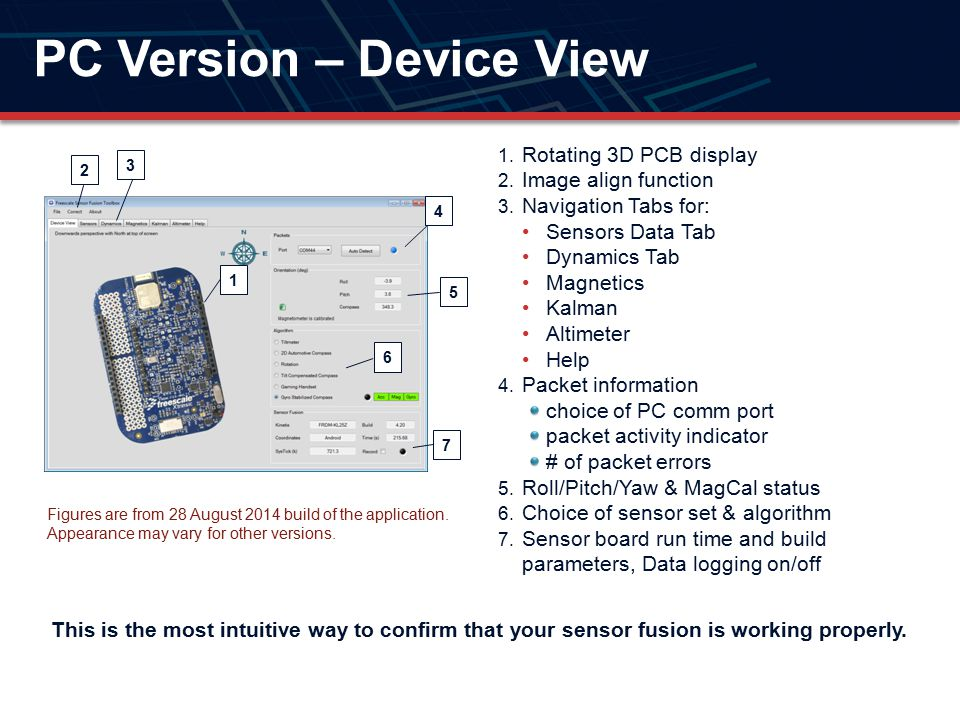 PC Version – Device View